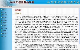 小学语文课程与教学论