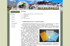 小学藏文教法