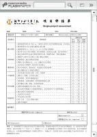 项目评估单_情境一:仪表显示系统设计与测试项目3:数码管动态显示_智能电子产品设计与测试