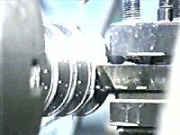普通圆柱蜗杆的加工