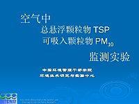 环境综合实验_王立新_大气TSP、PM10监测实验