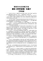 新闻采访与写作_邱志玲_婷婷春蕾总结