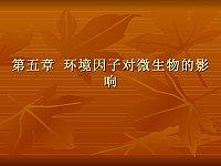 环境工程微生物_陈剑虹_第四章环境因子对微生物的影响02