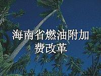 财政学_寇铁军_35.海南省燃油附加费改革