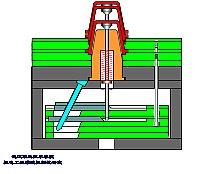柱滑块式二次绘制圆柱_冲塑模具设计与v圆柱武怎么推出机构地脚螺栓图片